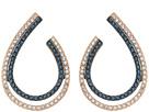 Swarovski Lemon Hoop Pierced Earrings