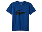 Lacoste Kids Sport Croc Graphic Tee (Little Kids/Big Kids)