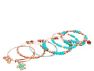 Alex and Ani Color Infusion Go with the Flow Bracelet Set of 5