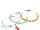 Alex and Ani Alex and Ani Color Infusion One in a Melon Bracelet Set of 3