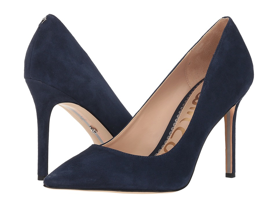 Sam Edelman Hazel (Baltic Navy Kid Suede Leather) Women's Shoes