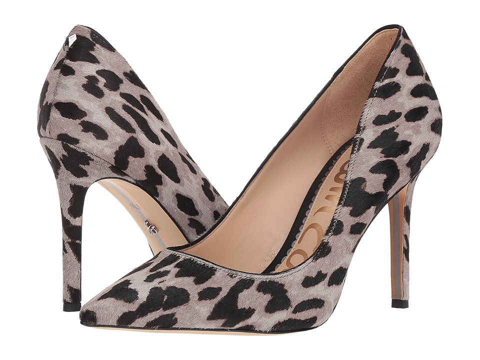 Sam Edelman Hazel (Grey Multi Clouded Leopard Brahma Hair) Women's Shoes