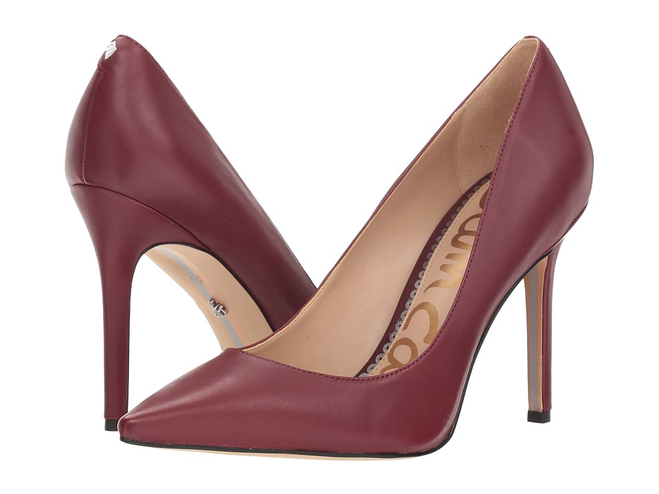 Sam Edelman Hazel (Beet Red Dress Nappa Leather) Women's Shoes