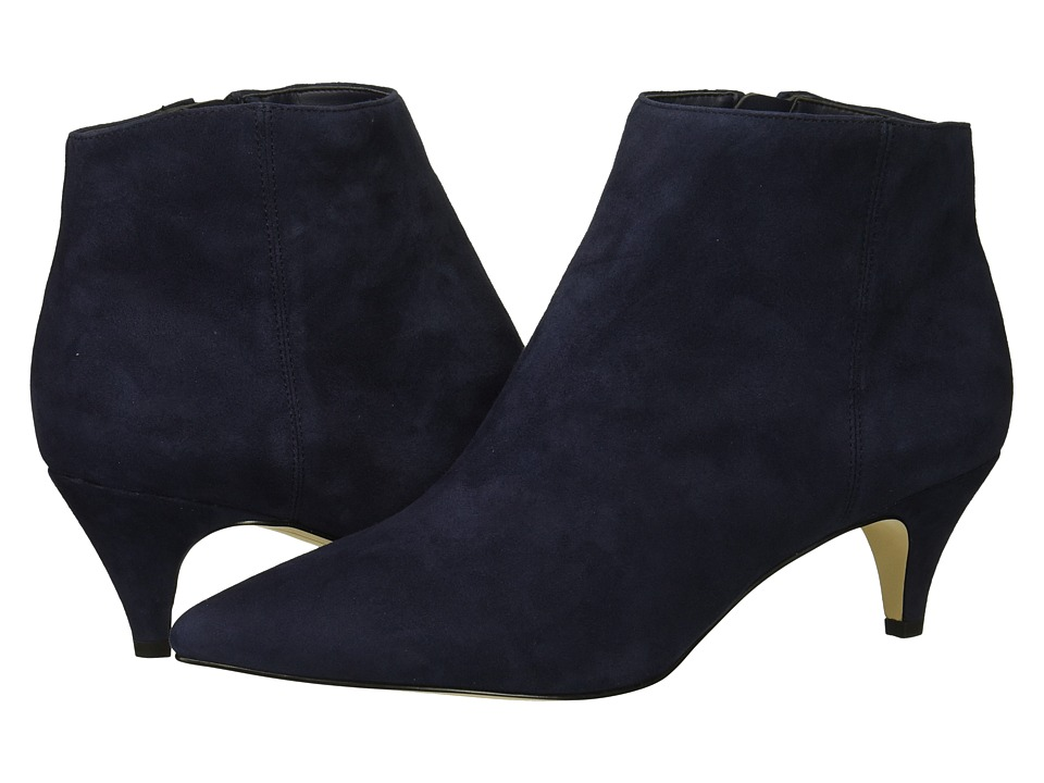 Sam Edelman Kinzey (Baltic Navy Kid Suede Leather) Women's Dress Zip Boots