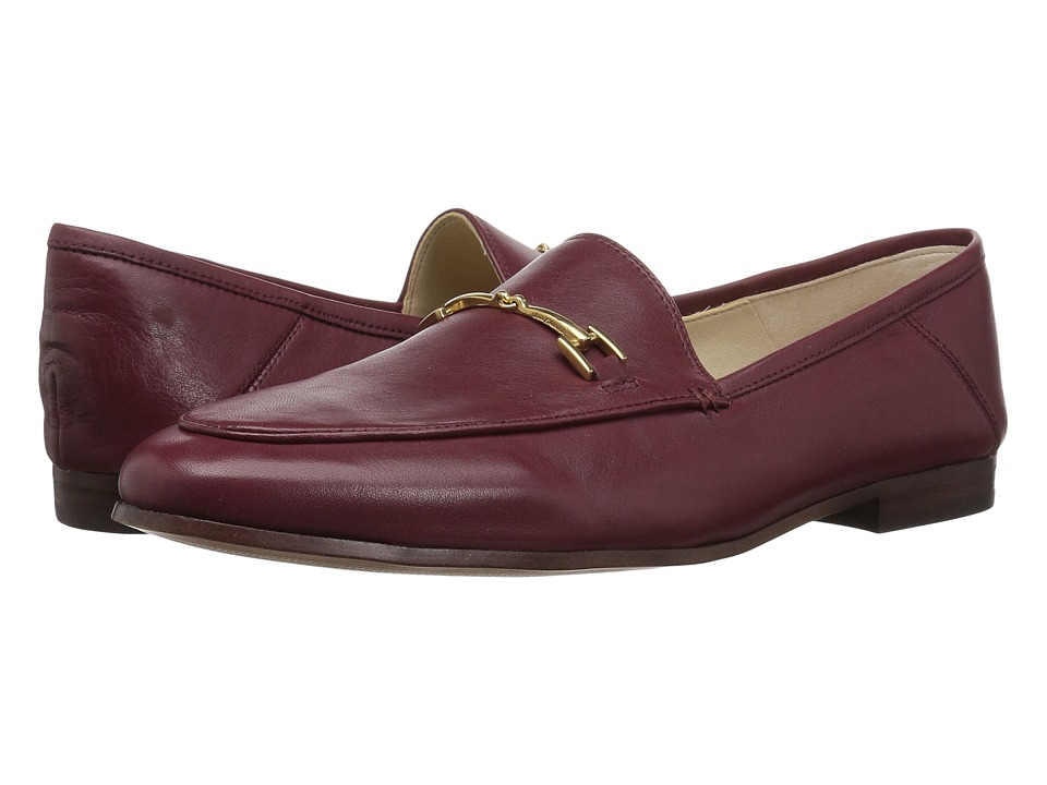 Sam Edelman Loraine (Beet Red Modena Calf Leather) Women's Dress Sandals