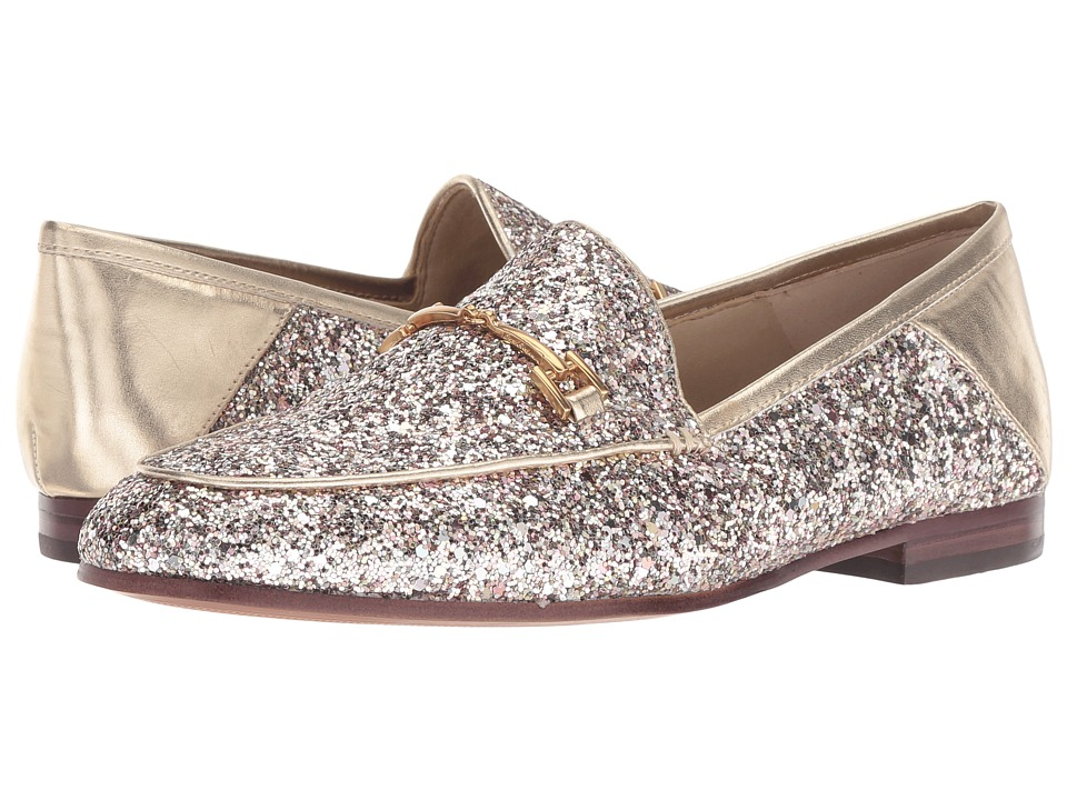 Sam Edelman Loraine (Molten Gold Chunky Glitter) Women's Dress Sandals