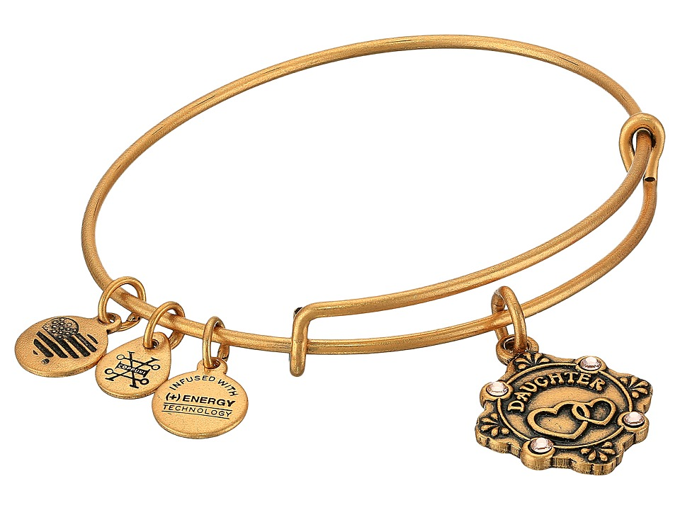 Alex and Ani - Because I Love You Daughter III Bangle (Rafealian Gold) Bracelet