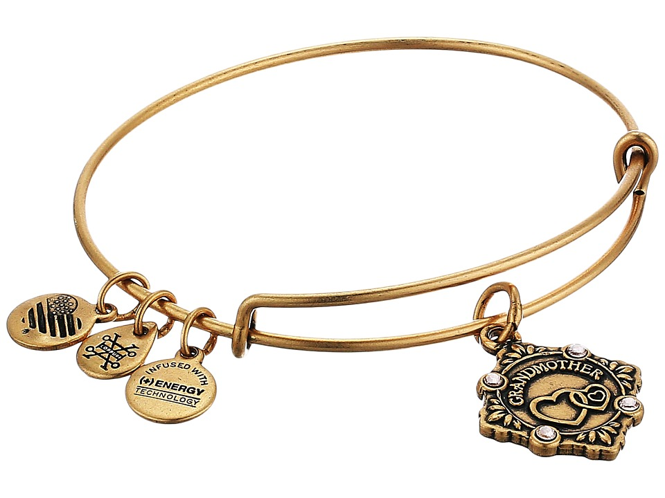 Alex and Ani - Because I Love You Grandmother III Bangle (Rafealian Gold) Bracelet