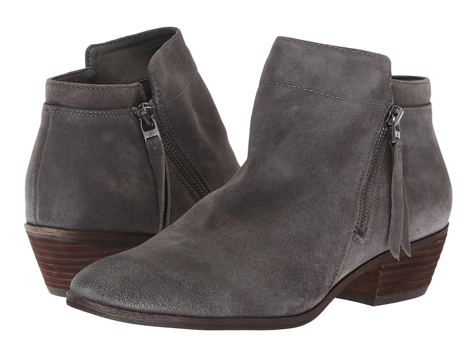 Sam Edelman Packer (Steel Grey Velutto Suede Leather)