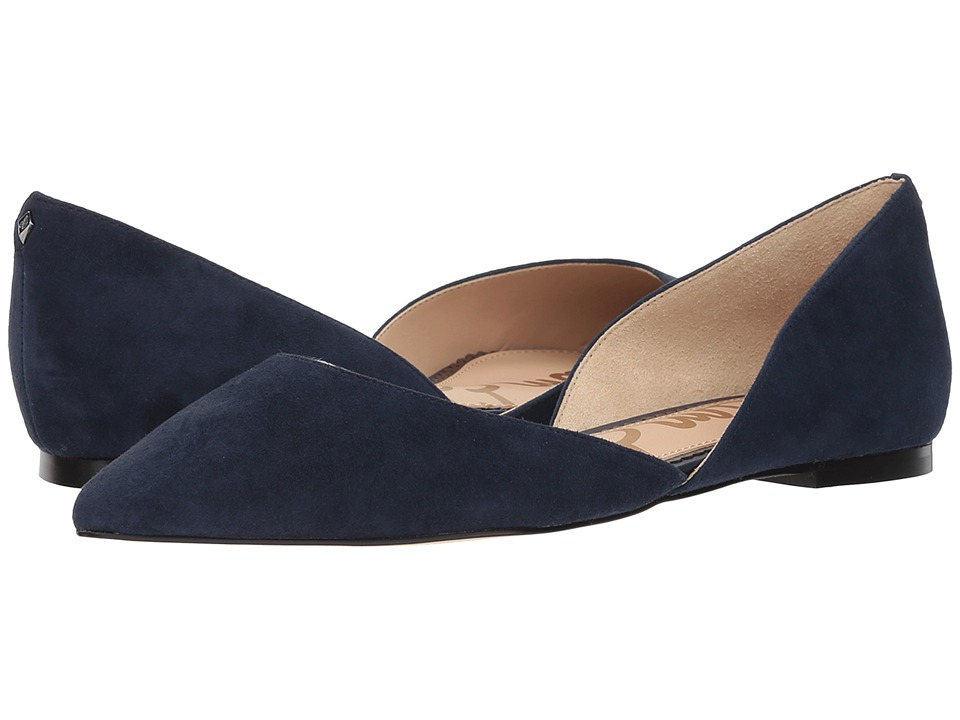 Sam Edelman Rodney (Baltic Navy Kid Suede Leather) Women's Shoes