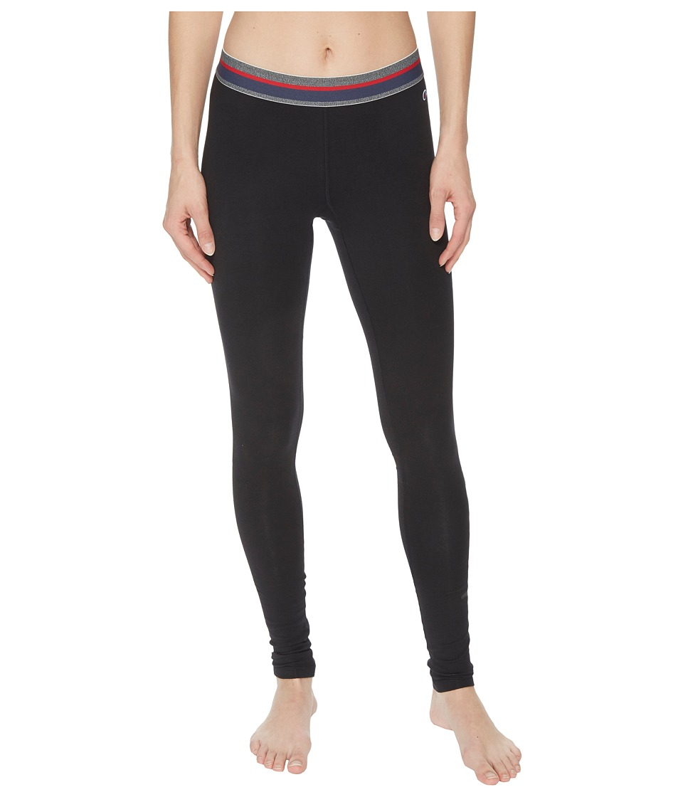 Champion - Authentic Leggings (Black) Womens Casual Pants