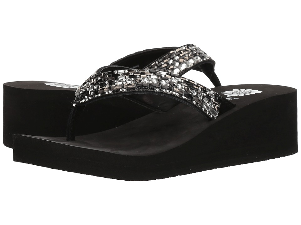 Yellow Box - Tinelli (Pewter Black) Women's Sandals