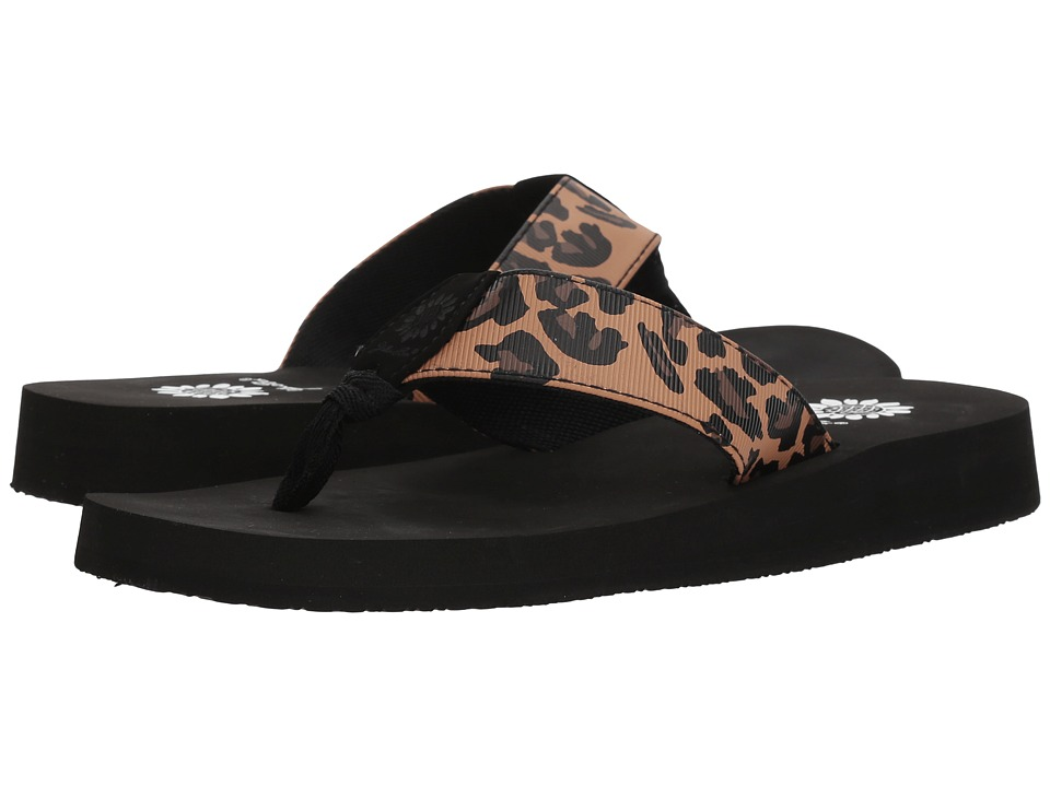 Yellow Box Kinsley (Leopard) Sandals