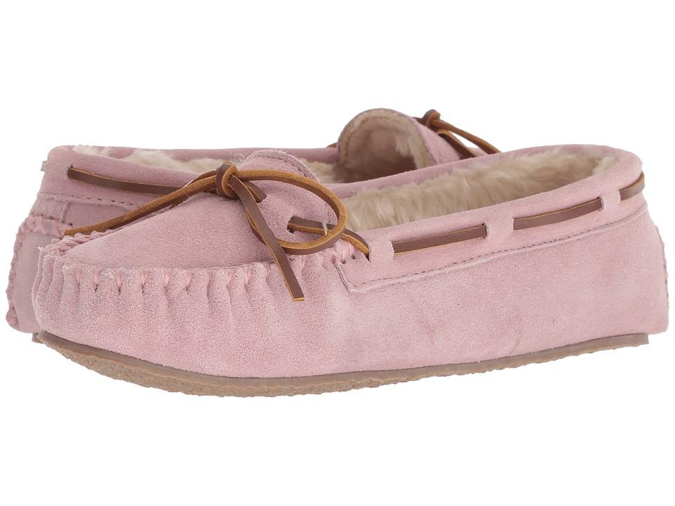 Minnetonka Cally Slipper (Pink Blush) Women's Moccasins