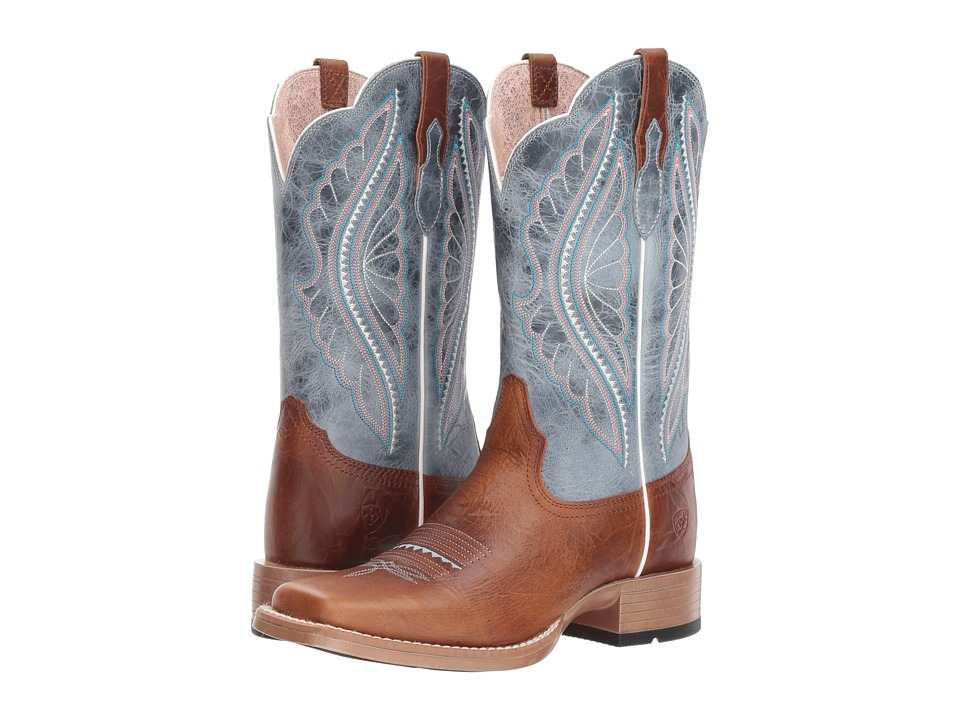 Ariat Primetime (Gingersnap/Baby Blue Eyes) Women's Cowboy Boots