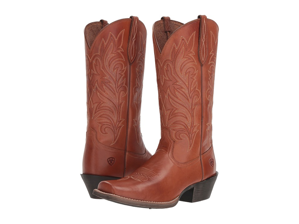 Ariat Round Up Stockyards (Naturally Rich) Women's Cowboy Boots