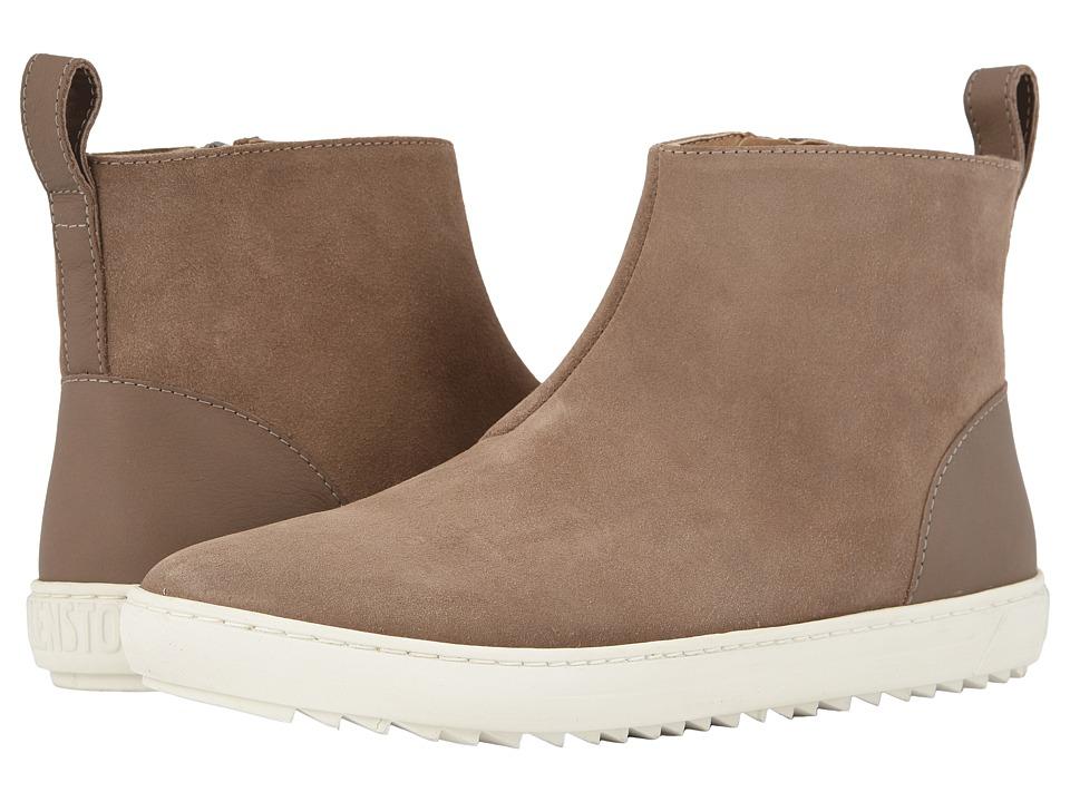 Birkenstock Myra (Taupe Suede) Women's Shoes