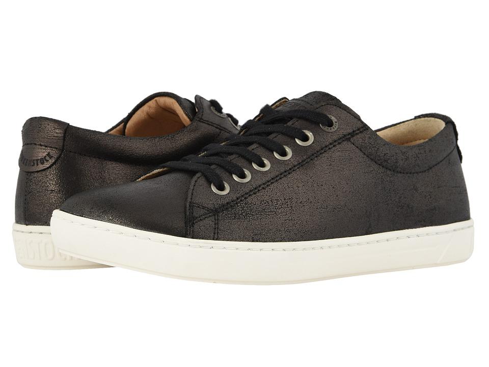 Birkenstock Arran (Metallic Black Leather) Women's Shoes