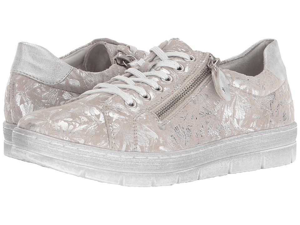 Rieker D5800 Kaja 00 (Fog/Silver/Ice) Women's Shoes