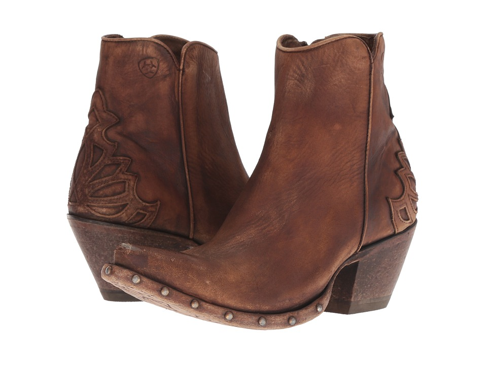 Ariat Fenix (Naturally Distressed Brown) Women's Cowboy Boots
