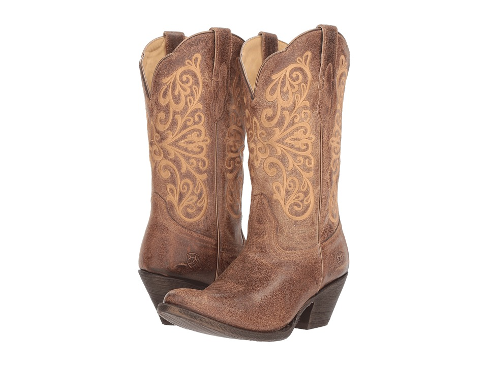 Ariat Terra Bella (Turnback Tan) Women's Cowboy Boots