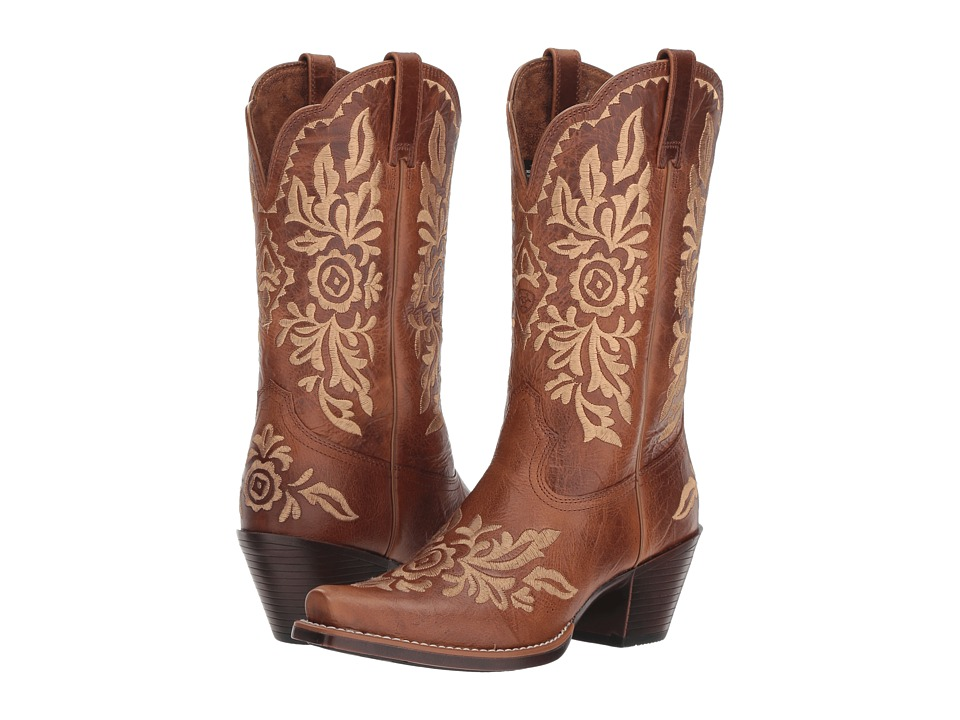 Ariat Harper (Burner Brown) Women's Cowboy Boots