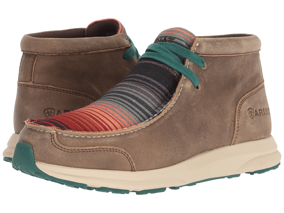 Ariat Spitfire (Brown Bomber/Serape Dusk) Women's Lace-up Boots