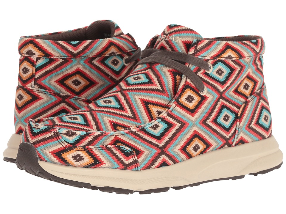 Ariat Spitfire (Aztec Print Textile) Women's Lace-up Boots