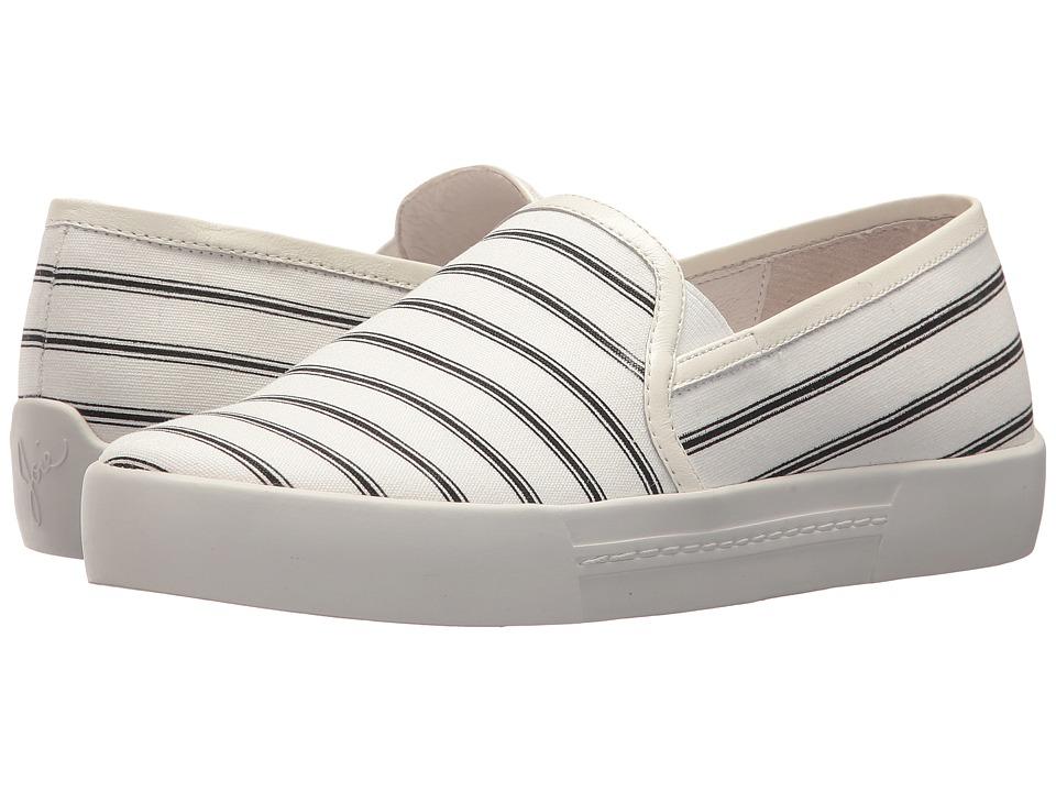 Joie - Huxley (Porcelain/Caviar Cotton) Womens Slip on  Shoes