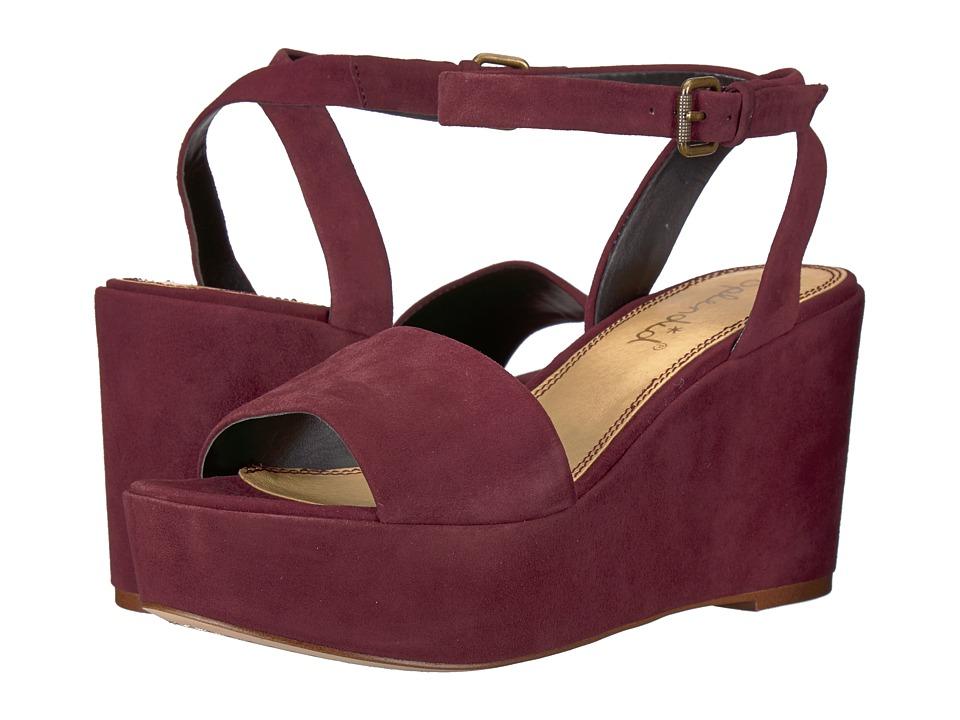 Splendid Felix (Deep Plum Kid Suede) Women's Shoes