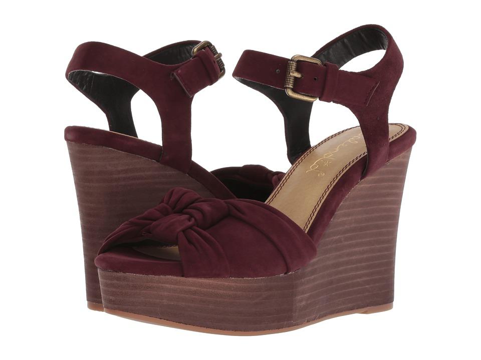 Splendid Nada (Deep Plum) Women's Shoes