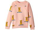 mini rodini Cat Campus Sweatshirt (Infant/Toddler/Little Kids/Big Kids)