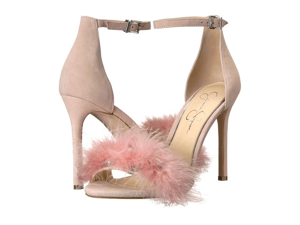 Jessica Simpson Jolinda (Mauve/Lux Feathers) Women's Shoes