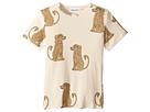 mini rodini Spaniel Short Sleeve Tee (Infant/Toddler/Little Kids/Big Kids)