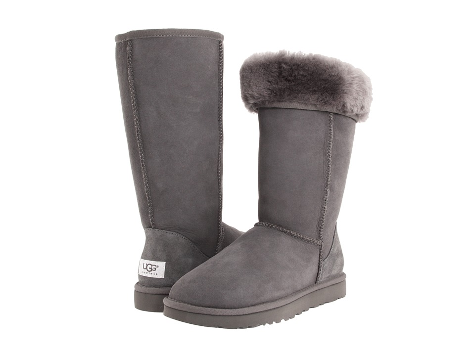 UGG Classic Tall (Grey) Women's Boots