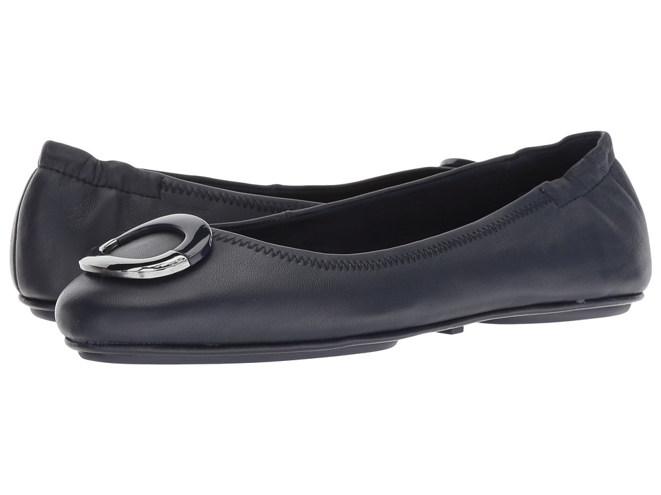 Bandolino Fanciful (Navy Leather) Flats