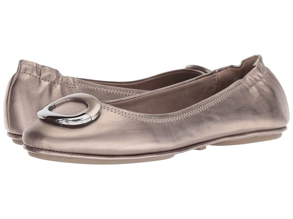 Bandolino Fanciful (Pewter Synthetic) Flats