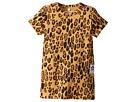 mini rodini Basic Leopard Dress (Infant/Toddler/Little Kids/Big Kids)