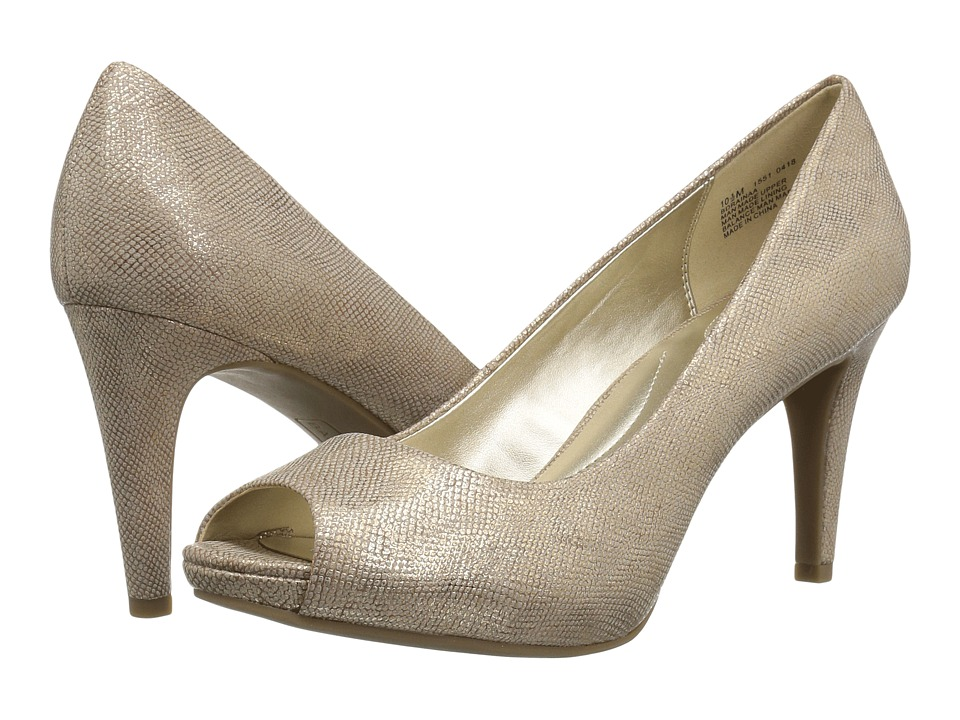 Bandolino Rainaa (Light Gold Synthetic) Women's Shoes