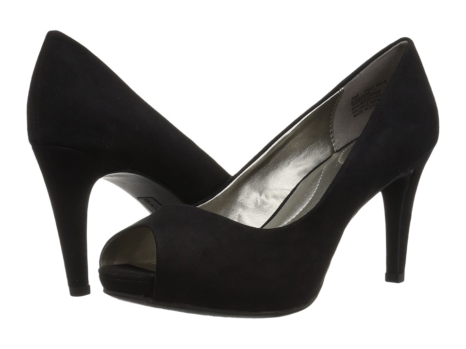 Bandolino Rainaa (Black Fabric) Women's Shoes