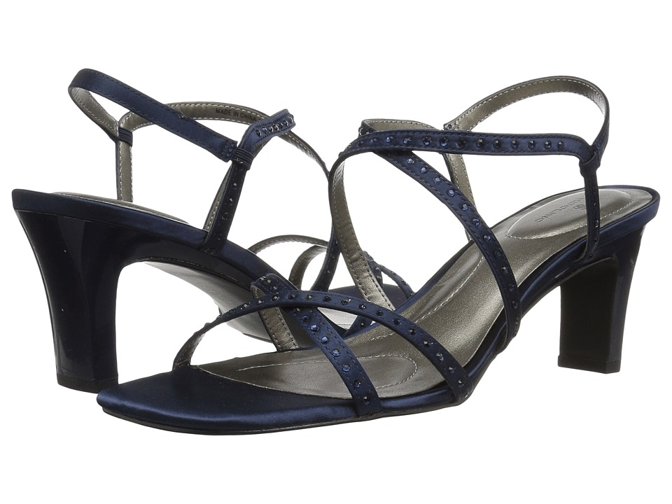 Bandolino Ota (Navy Fabric) Slingbacks