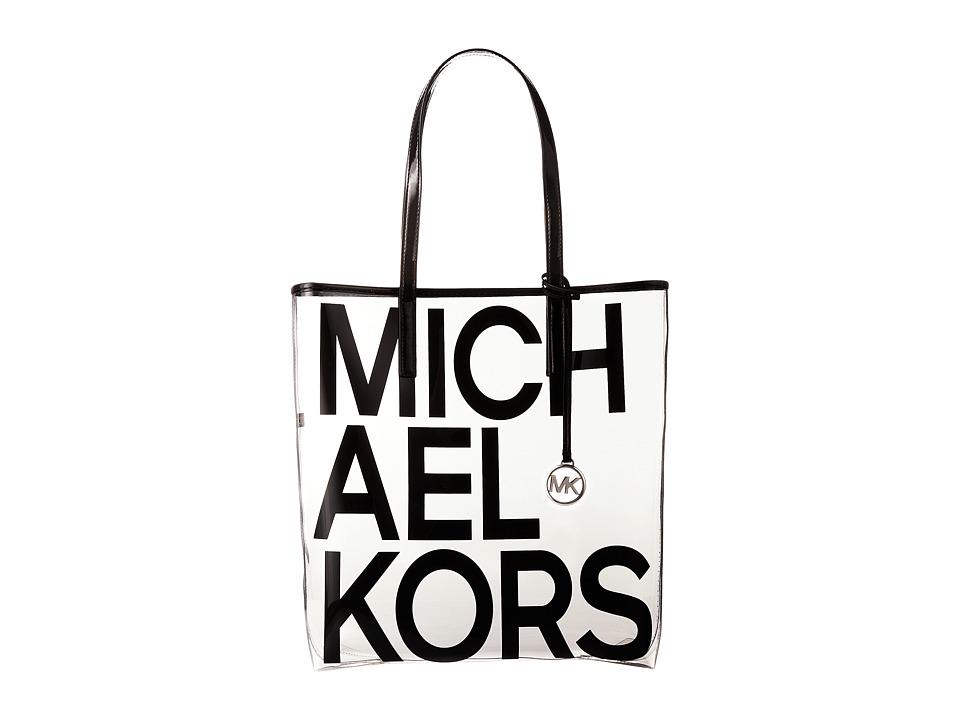 Michael Kors Hayley Large North/South Tote (Black) Tote H...