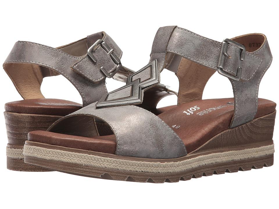Rieker Antistress D6350 Icess 50 (Grey) Women's Shoes