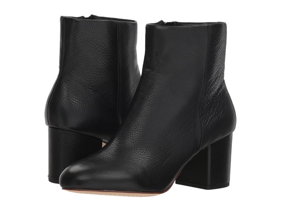 Splendid Nixie II (Black Leather) Women's Shoes
