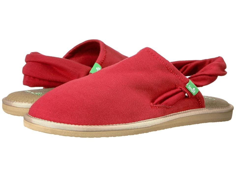 Sanuk Yoga Sling Cruz (Chili Pepper) Women's Shoes