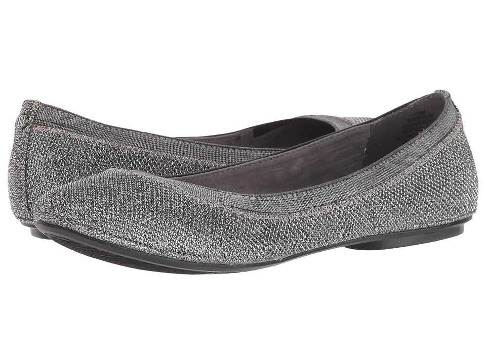 Bandolino Edition (Gunmetal Multi Fabric) Flats