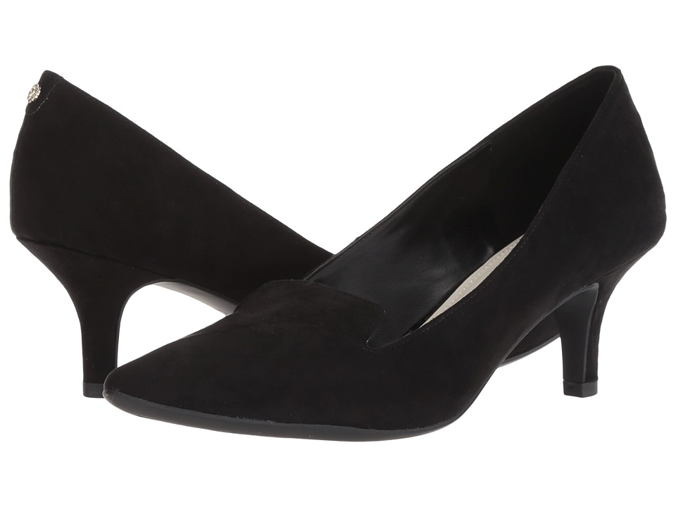 Anne Klein Felice (Black Fabric) Women's Shoes