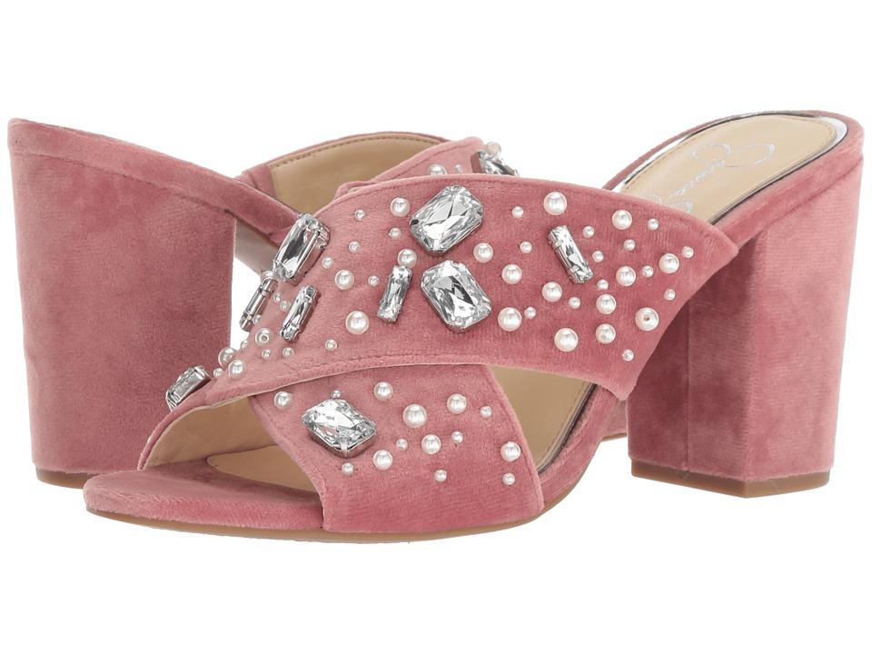Jessica Simpson Rizell (Rose Velvet) Women's Shoes