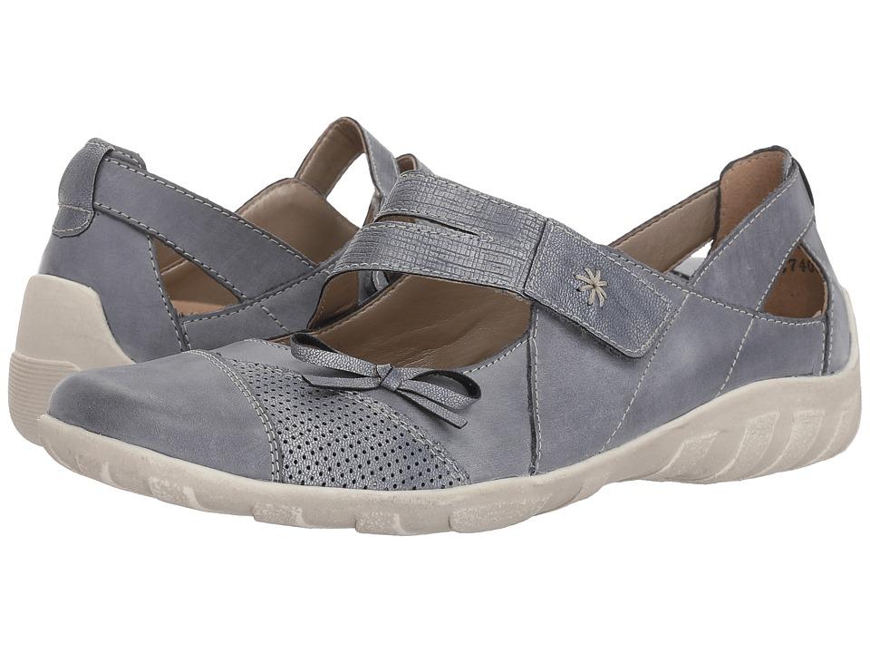 Rieker R3428 Liv 28 (Jeans/Denim/Denim) Women's Shoes