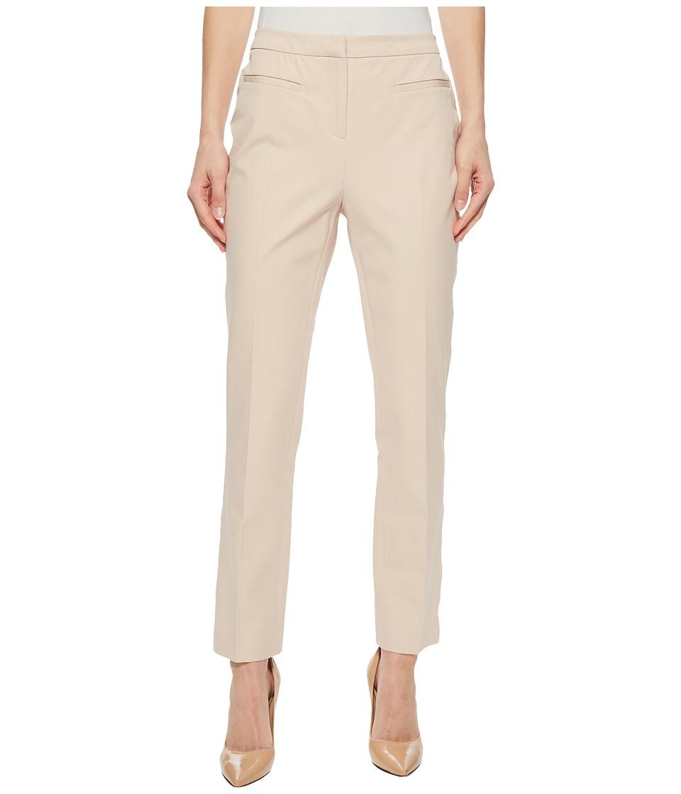 Ellen Tracy - Welt Pocket Slim Pants (Cashew) Womens Casual Pants
